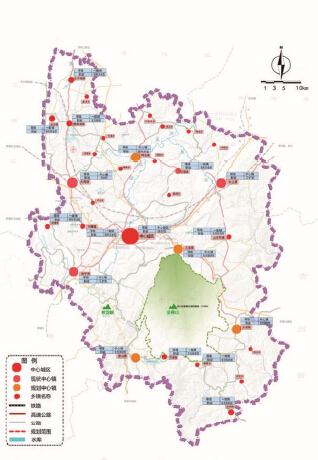 重庆市南川区新型城镇化概念规划