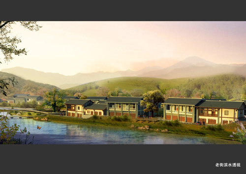 重庆市垫江县高峰镇城市设计