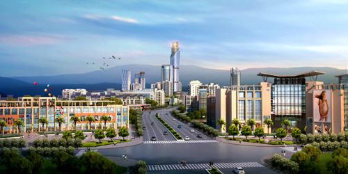 Urban Design for Dashaba Plot, Qiaojia County, Yunnan Province