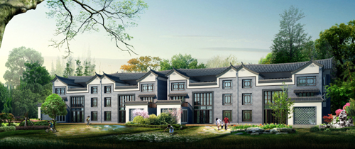 Urban Design,Dianzhong Residential Culture Park, Yuxi city, Yunnan Province.