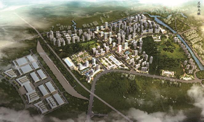 四川省遂宁市中国西部现代物流港中央商务区城市设计