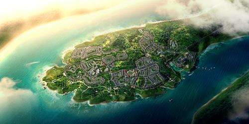 Conceptual Urban Design,  Duzhu District, Zhongxian City, Chongqing Municipality